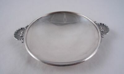 Georg Jensen Sterling 355D Shell Dish Trinket Ring Tray Old Mark Albertus Design