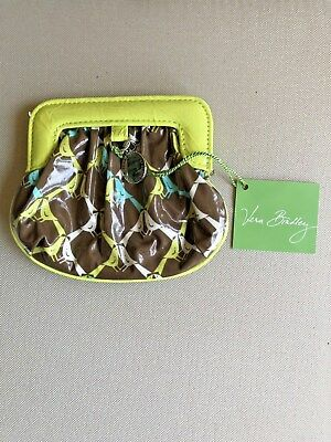 NWT VERA BRADLEY FRILL CHARMED POUCH COIN PURSE Sittin' In A Tree