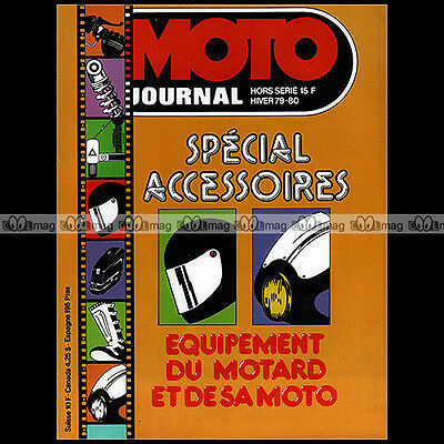 MOTO JOURNAL HS A79 HORS-SERIE ★ SPECIAL EQUIPEMENTS ACCESSOIRES ★ Guide 1979