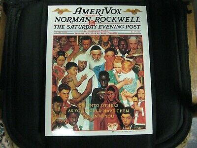 "Rare And Vintage Norman Rockwell ""The Saturday Evening Post"" Amerivox Phone Card"