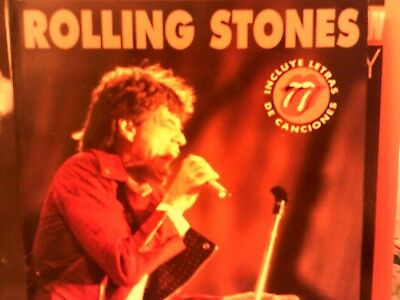"The Rolling Stones...Book ""Coleccion Imagenes de Rock"" 1993 Spain Import Book"