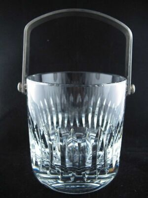 DEAUVILLE by ST LOUIS French Crystal Handled Ice Bucket