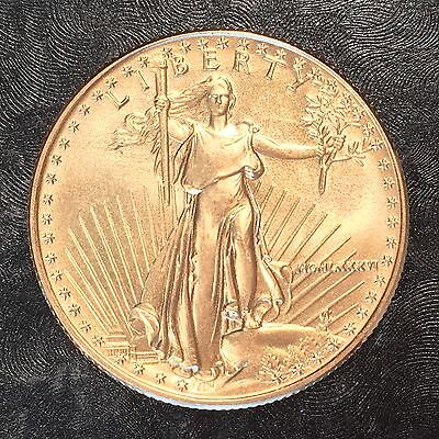 1986 American Gold eagle 1/2oz $25 Gold Coin - High Quality Scans #E588
