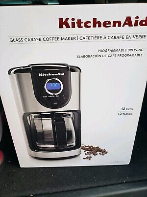 COFFEE MAKER KITCHENAID 12-Cup with Glass Thermal Carafe ...