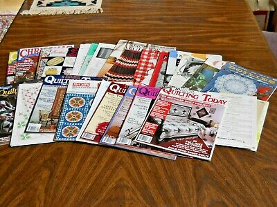 Huge Lot of Vintage Needlework Quilting Crocheting Knitting Patterns Books