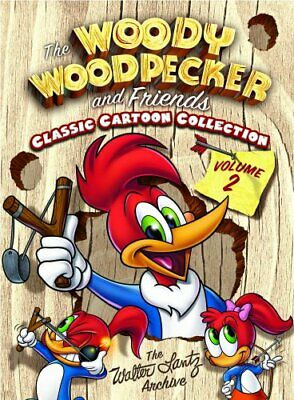 WOODY WOODPECKER FRIENDS CLASSIC COLLECTION V 2 New DVD