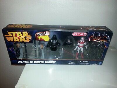 """Star Wars """"The Rise Of Darth Vader"""" With Light-Up Lightsaber-Target Exclusive"""