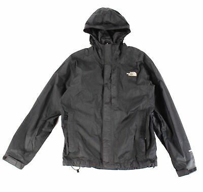4daaace39 THE NORTH FACE NEW Black Mens Size Small S Hooded Windbreaker Jacket $120-  #091