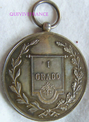 DEC5001 - MEDAILLE I GRADO - attribuée - ITALIE