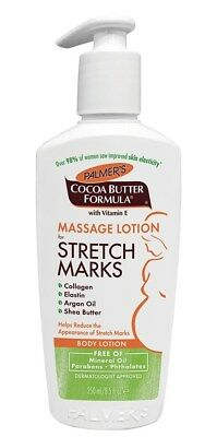 New Palmer's Cocoa Butter Formula Massage Lotion For Stretch Marks 8.5 Fl Oz.