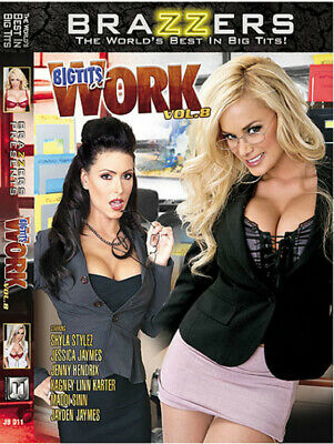 Big Tits At Work Vol.8 - Brazzers - Dvd Sealed - Over 3 Hours
