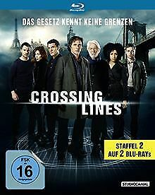 Crossing Lines - Staffel 2 [Blu-ray] | DVD | Zustand sehr gut