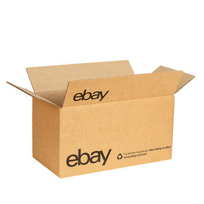 "eBay-Branded Boxes With Black Color Logo 12"" x 6"" x 6"""