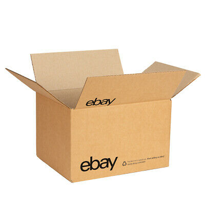 "NEW EDITION eBay-Branded Boxes With Black Color Logo 10"" x 8"" x 6"""