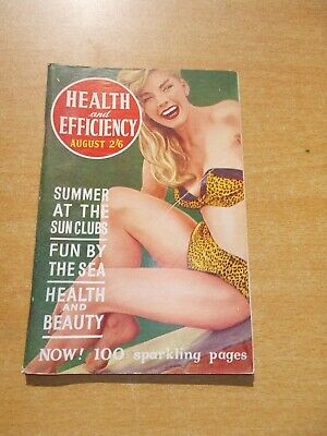 HEALTH and EFFICIENCY:Issue No.724 August 1961