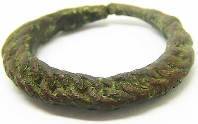 10th - 11th century A.D. Wonderful Viking Scandinavian Braided Type Finger Ring