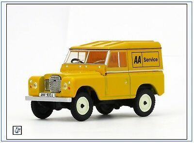 Oxford 1:43 nuevo /& Lr3s002 Land Rover Series III SWB Hard Top auto Mobile Assoc.