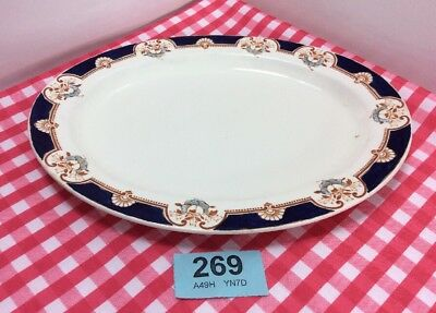"""Vintage Wood And Sons, Woods Ware """" Montrose"""" Serving Plate"""