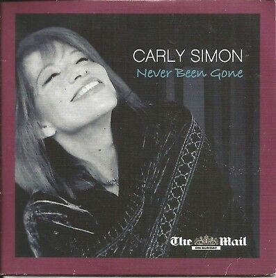 Carly Simon - Never Been Gone - Mail Promo Music Cd