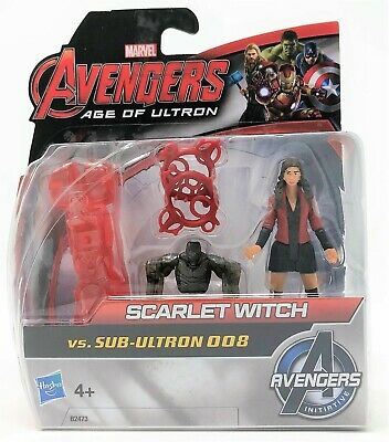 Marvel Avengers Figure SCARLET WITCH vs Sub-Ultron 008 Build & Collect B2473