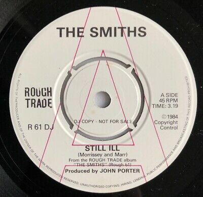 """THE SMITHS - STILL ILL - Rare 1984 UK Promo only 7"""" (Vinyl Record) (unreleased)"""