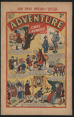 Adventure 1070. Classic Boys' Paper Issue From Significant Collecton