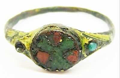 10th - 11th century Late Anglo-Saxon / Anglo-Scandinavian Enamelled Finger Ring