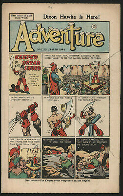 Adventure 1215. Classic Boys' Paper Issue From Significant Collecton