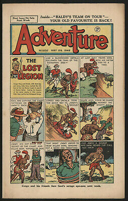 Adventure 1230. Classic Boys' Paper Issue From Significant Collecton