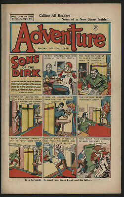 Adventure 1241. Classic Boys' Paper Issue From Significant Collecton