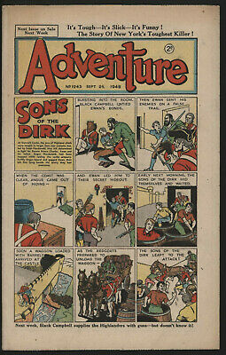 Adventure 1243. Classic Boys' Paper Issue From Significant Collecton