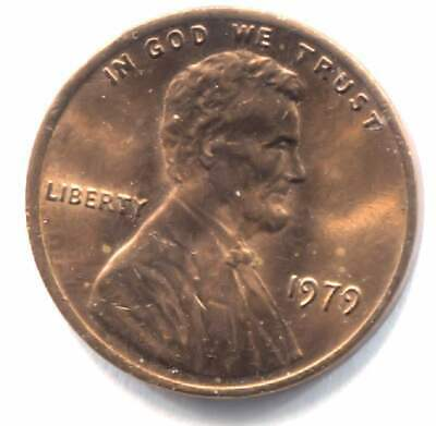1979 P Lincoln Memorial Penny - American One Cent Coin - Philadelphia Mint
