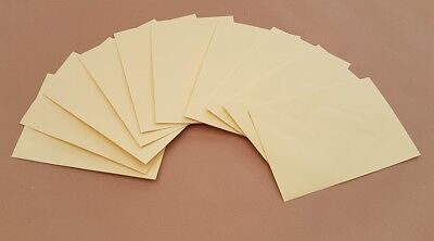 100gsm CREAM ENVELOPES CARDS PAPER INVITATIONS WEDDING SMALL CRAFT MAKING