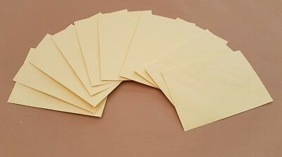 CRAFT CREAM  ENVELOPES CRAFT MAKING CARDS PAPER WEDDING LOT 100gsm