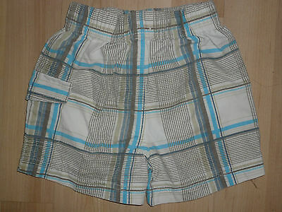 Boys Shorts ~ Age 3-6 months ~ Blue & White Check ~ BHS ~ Will Combine Postage