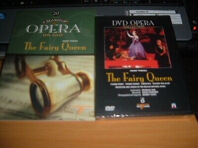 new unopened Del Prado dvd PURCELL THE FAIRY QUEEN   with green book
