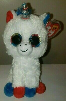 100c71c1608 Ty Beanie Boos - LIBERTY the Unicorn 6