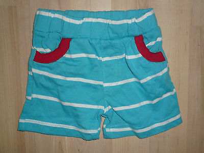 Boys Shorts ~ Age 3-6 months ~ Blue & White ~ Peacocks ~ Will Combine Postage