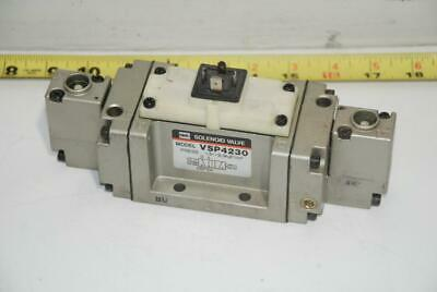 SMC Solenoid Operated Pneumatic Air Directional Control Valve VSP4230 110V 120V