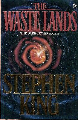 DARK TOWER III The Waste Lands by Stephen King (1992) Plume illustrated SC 1st