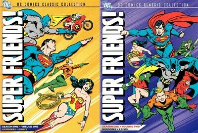 SUPERFRIENDS THE COMPLETE 1973 TV SERIES New Sealed DVD All 16 Episodes