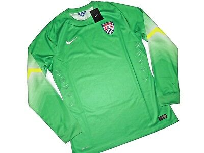 2f954a23586 Nike men s Goalie Jersey National Team USA Soccer Long sleeve SHIRT Size XL