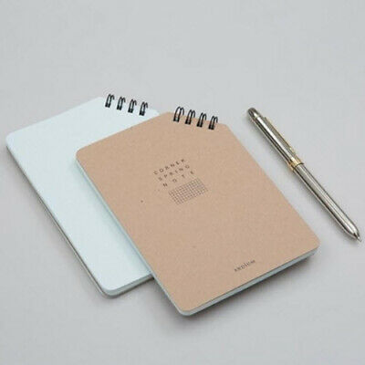 Corner Spring Notebook [M] Study Memo Idea Business Journal Vocabulary Notepad