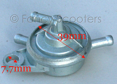 Petcock Vacuum Fuel Pump Valve for Chinese Scooter ATV Go Kart GY6 50//125//150cc