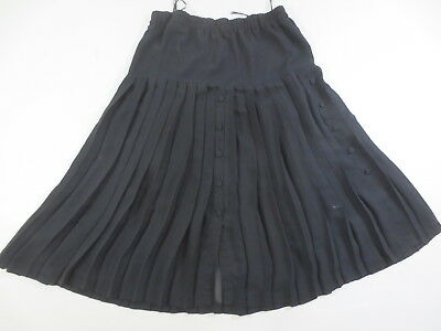 Top Pleated Skirt Maico Evening Dorette 48 Costume Black / T1