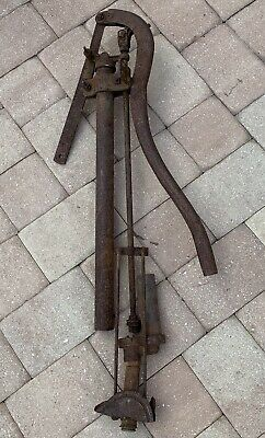 Old Rusty hand Pump well farmhouse rustic country farm plumbing antique metal