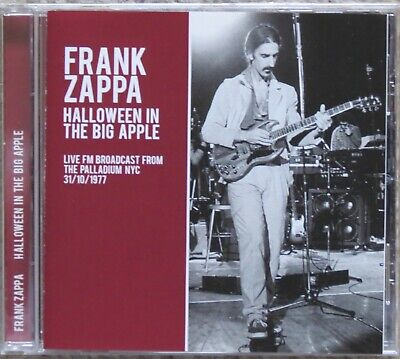 FRANK ZAPPA: Halloween in the Big Apple CD - live 1977
