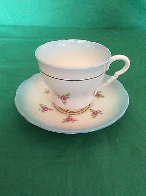 Royal Stafford Bone China England Pattern # 1311 Blue Trim  Cup & Saucer
