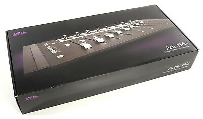 NEW AVID Artist Mix Compact 8 Fader Control Surface EUOCN Works With Pro Tools.