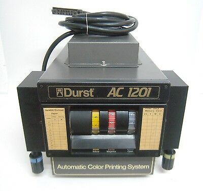 DURST AC 1201 Part of Enlarger Automatic Color Printing System Head AC-1201.--GG